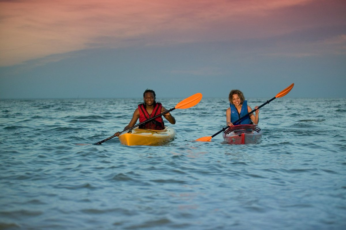 Adventures For Couples: Kayak Tours In Virginia via @VisitVirginia