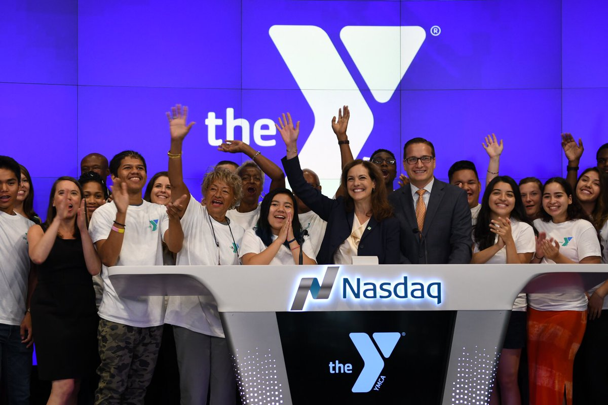 Thank you to @NASDAQ for having us this morning for the ringing of the opening bell!