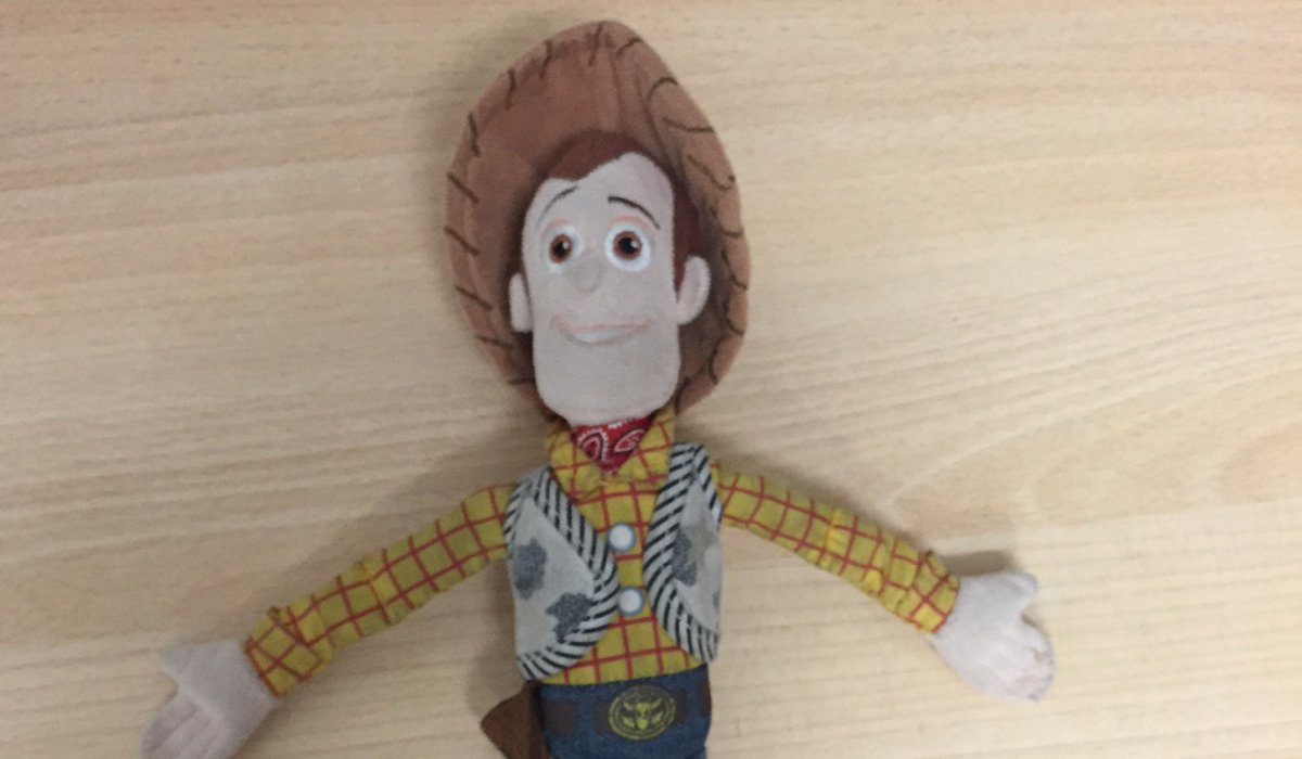 Help! A girl was looking for Woody early today & he's just been found. We don't have her details so please RT #lost https://t.co/35TMcito8p