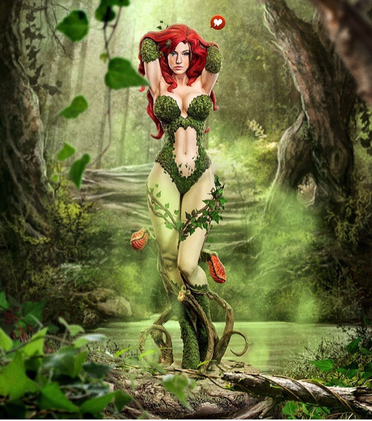 Thanks to @kaethor_ for this awesome artwork!  #fanartfriday #claireanacosplay #poisonivy #fantasy #redhead https://t.co/7ww7VlsODP