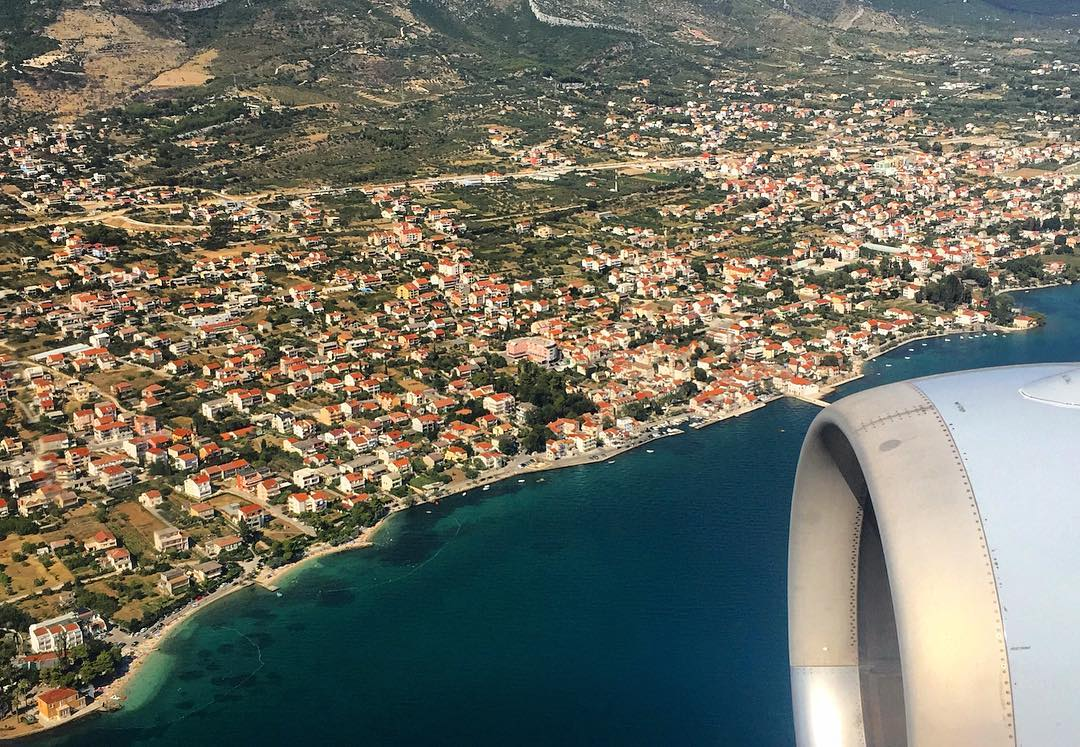 Adventure awaits below in Croatia. WindowViews. Photo