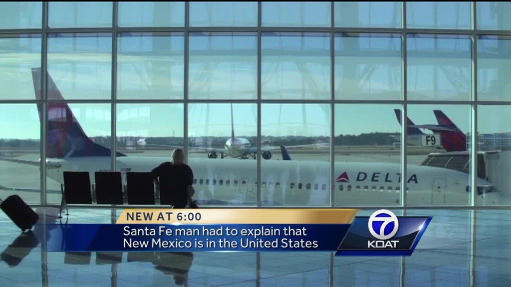 Delta Air Lines employees mistake New Mexico for Mexico