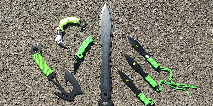 Zombie knives ban comes into effect across England and Wales on Thursday: https://t.co/E1FeHxA6ko https://t.co/EkeJFo4FOD