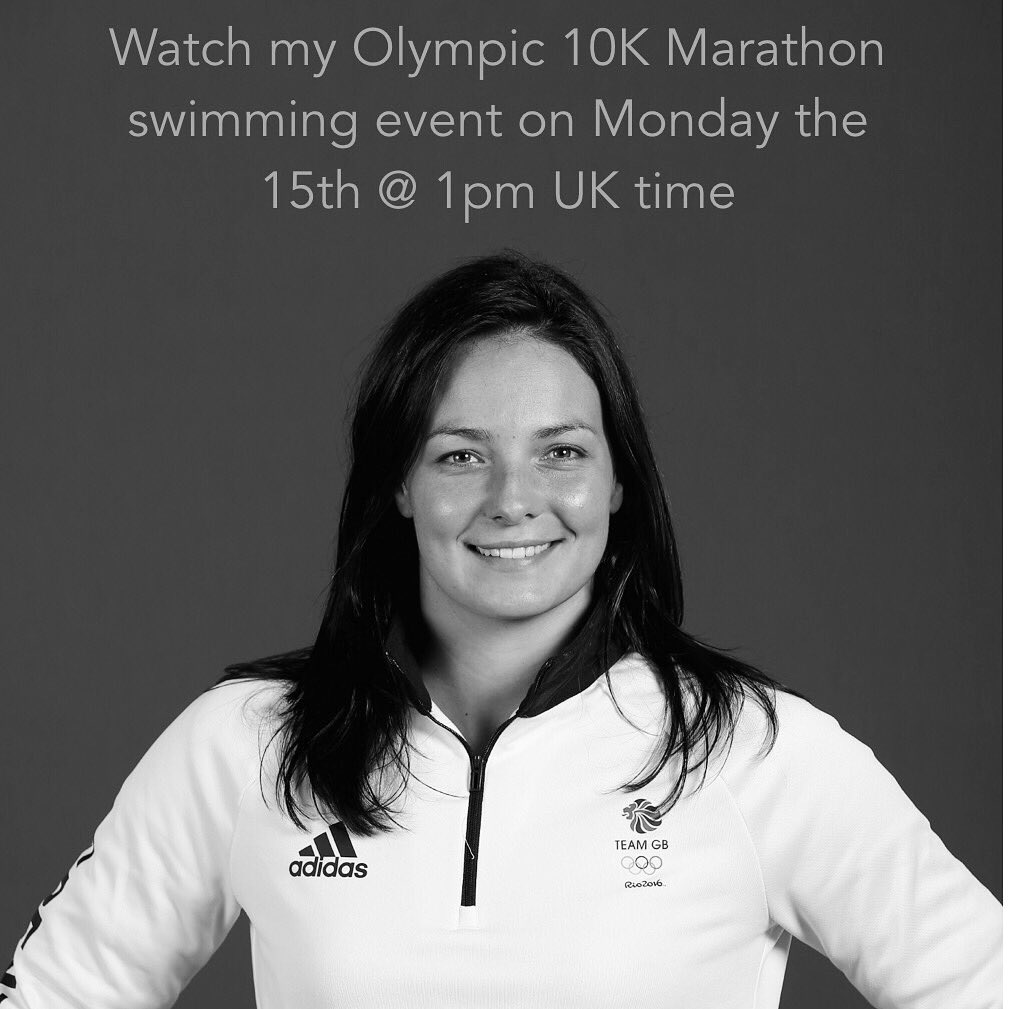 Only 3 days to go until my 10k in the #Copacabana catch me on the 15th @ 1pm UK time