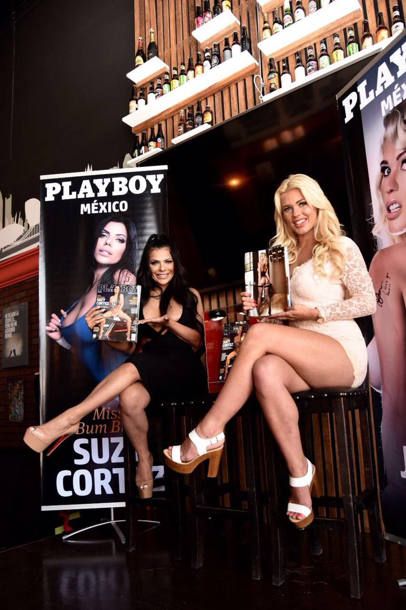RT @PlayboyMX: #FelizViernes ¡Oh Dio Mío! Conferencia de Prensa con @SuCortezOficial y @jessyjensen desde #Puebla ???????????? https://t.co/nGETHLXR…
