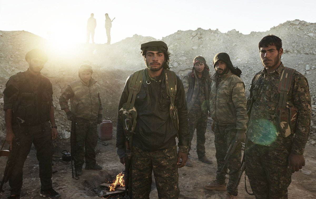 YPG forces, who aided the liberation of Manbij, photographed by @joeyldotcom in 2015. https://t.co/GdSaLMhNJx