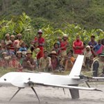 Drone é usado para levar remédios a vilarejos afastados