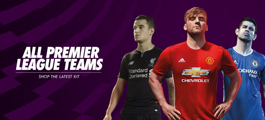 All 20 Premier League teams are back in action, and you can shop them all online now; https://t.co/p03VPRXSDV https://t.co/hvsy0WjWFU