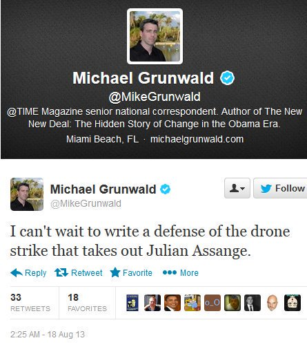 Another Pulitzer moment from TIME: 'WikiLeaks Is Getting Scarier Than the NSA' prior epic: