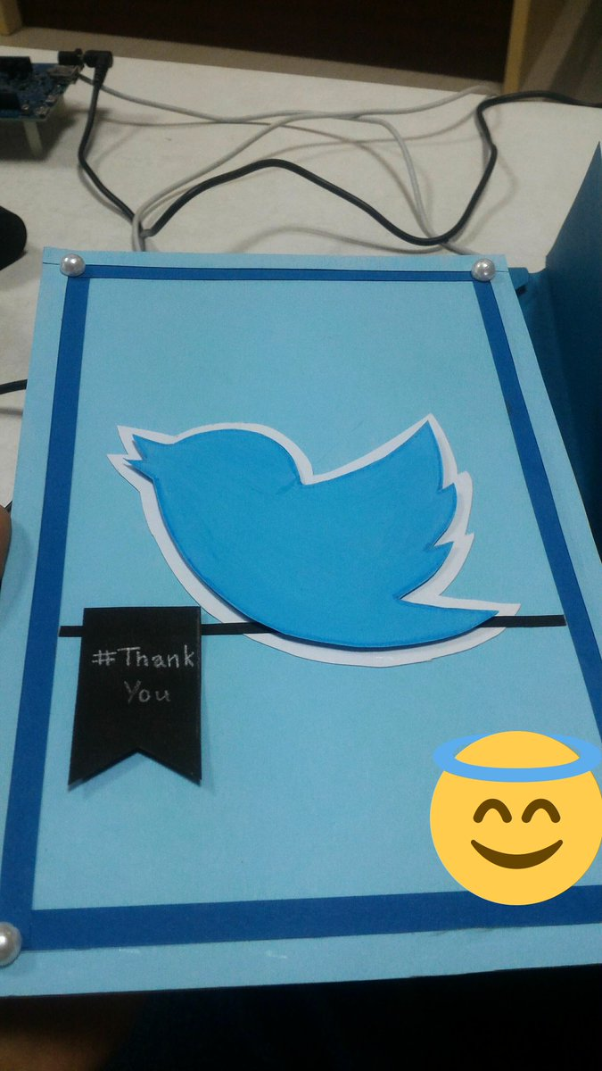 You're welcome guys, such a pretty hand-made card! #inout @InOut_SVNIT #hackinout https://t.co/56HhctGFzA