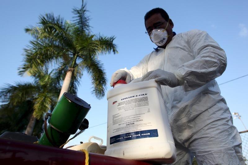 U.S. declares a Zika public health emergency in Puerto Rico