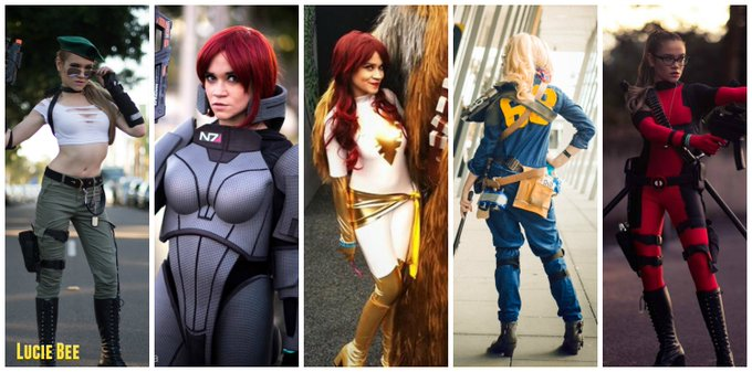 What #Cosplay would you like to see me do next? I'm already working on a little more #XMen for this year