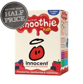 Innocent Smoothies for Kids Strawberries, Blackberries and Raspberries 4 x 180ml https://t.co/O6Xs7eP4JL