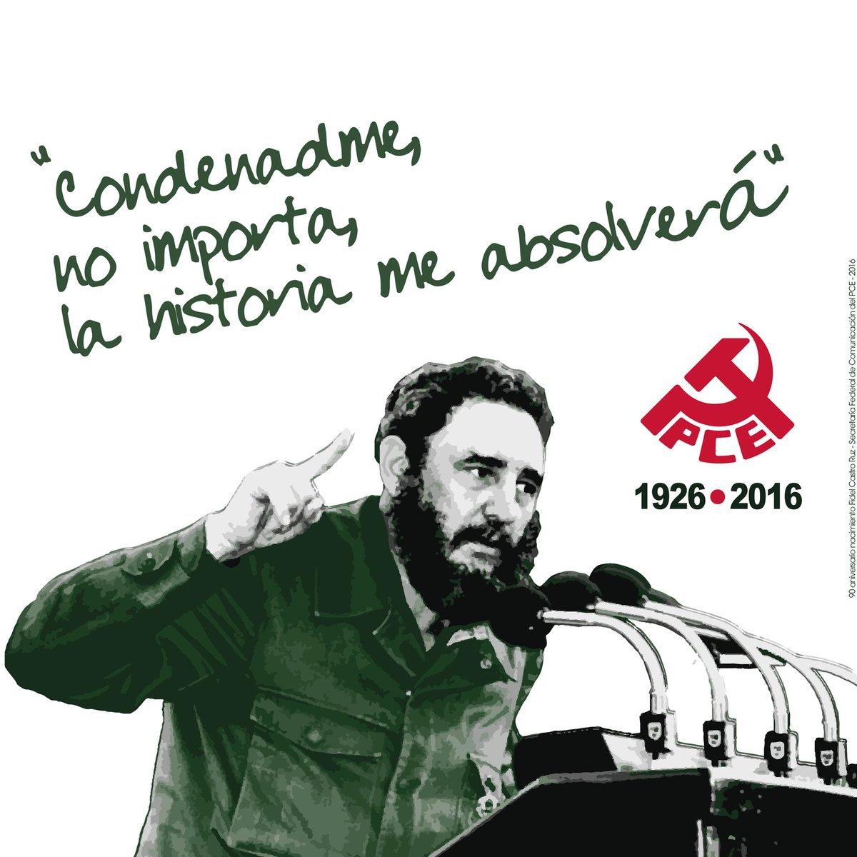 90 años de dignidad, 90 años de soberanía, 90 años de victoria. #FelicidadesFidel #Fidel90 https://t.co/RbCK3xAFlW