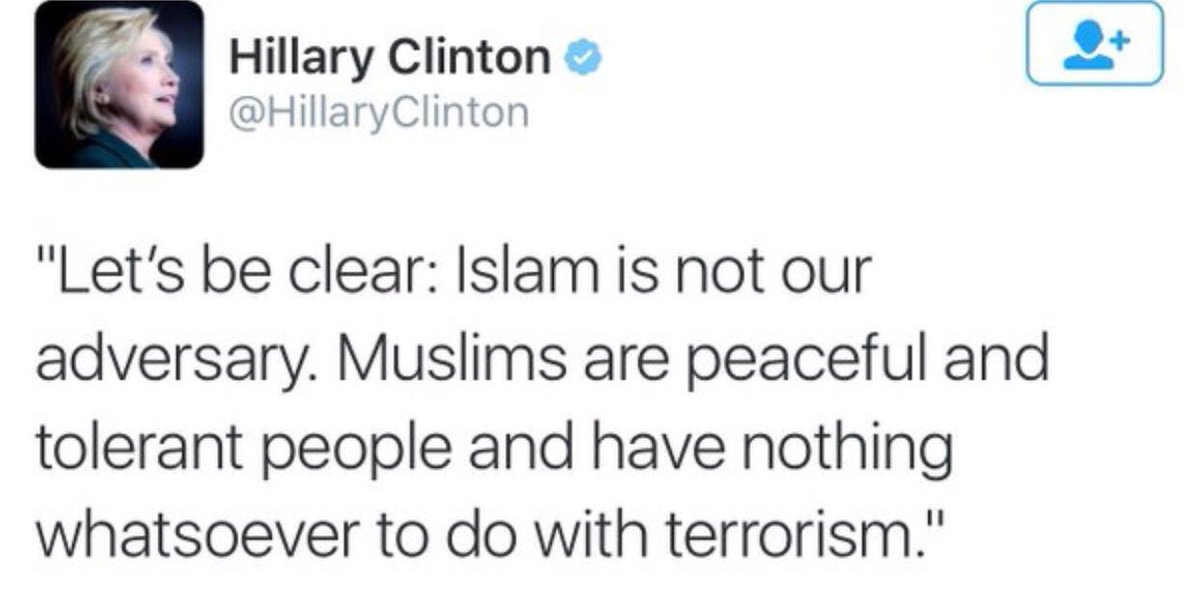 Tell that to all of the families of missionaries that have been slaughtered! #nonsense #clueless #bullcrap #unfit https://t.co/d8G9q4zHFq