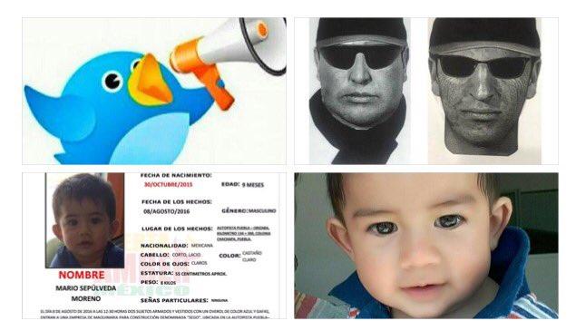 """""""@MariaAmpudiaG_: Tu apoyo con RT Foto de los secuestradores del bebé Mario en Puebla Cada segundo es importante. https://t.co/JsTQV4TAas"""