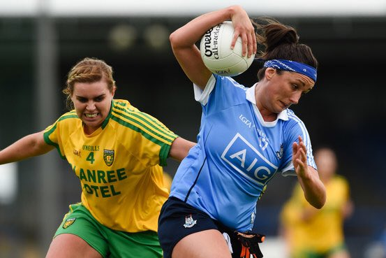 FT Dublin 1-13 Donegal 2-07. @dublinladiesg book their place in the All-Ireland Senior Ladies Football SF #COYGIB https://t.co/m1fOr3xYNm
