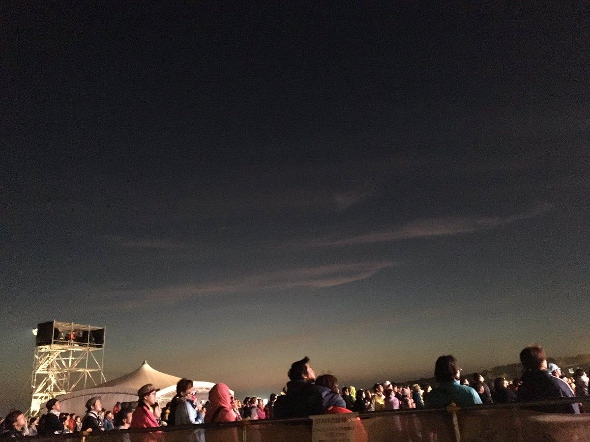 もうすぐ夜明け  #RSR16  ブラフマン @tacticsrecords start 満月の夕演奏中  ゲスト 山口洋さん 中川敬さん https://t.co/O4B2cQkB7N