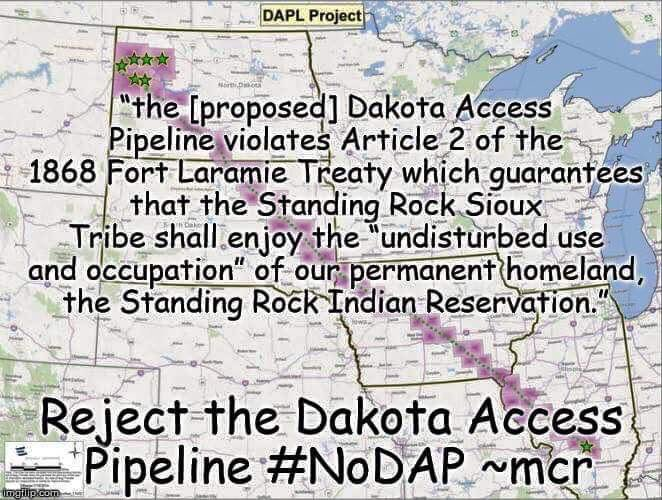 If you love #NativeAmerican culture then fight for Native issues. Honor the community by standing up for it. #NoDAPL https://t.co/1PgLcJGuVm