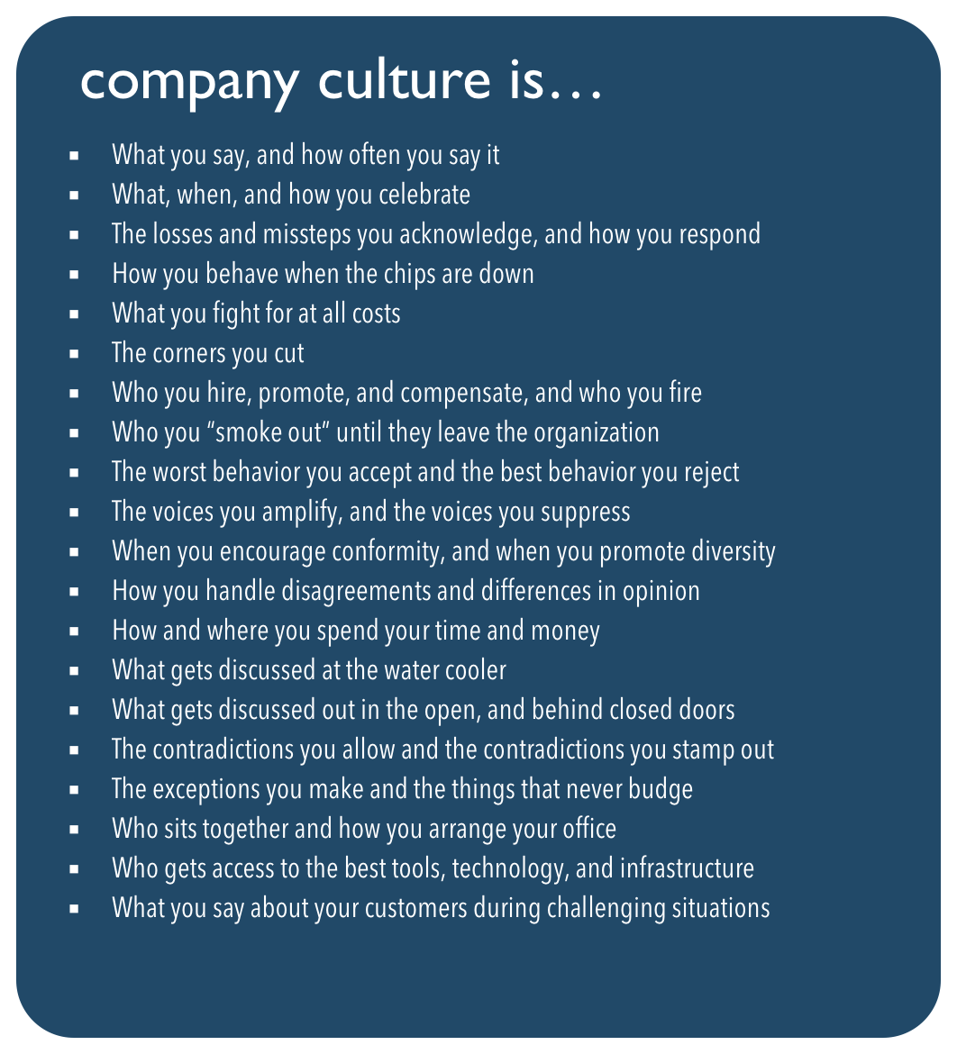 Company culture is ... via @johncutlefish https://t.co/MghoKVeVTW