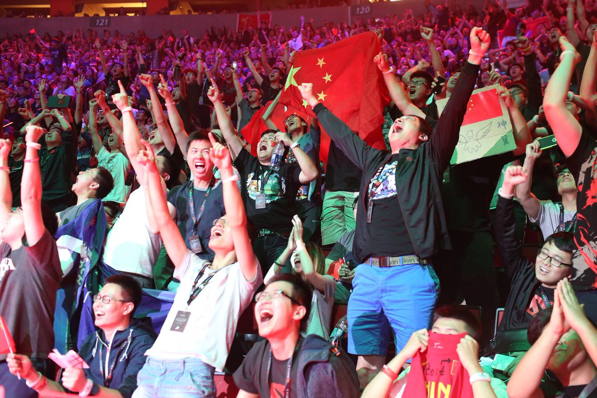 Wings Gaming are The International 2016 Champions! #TI6 https://t.co/RXR2phJ2oD