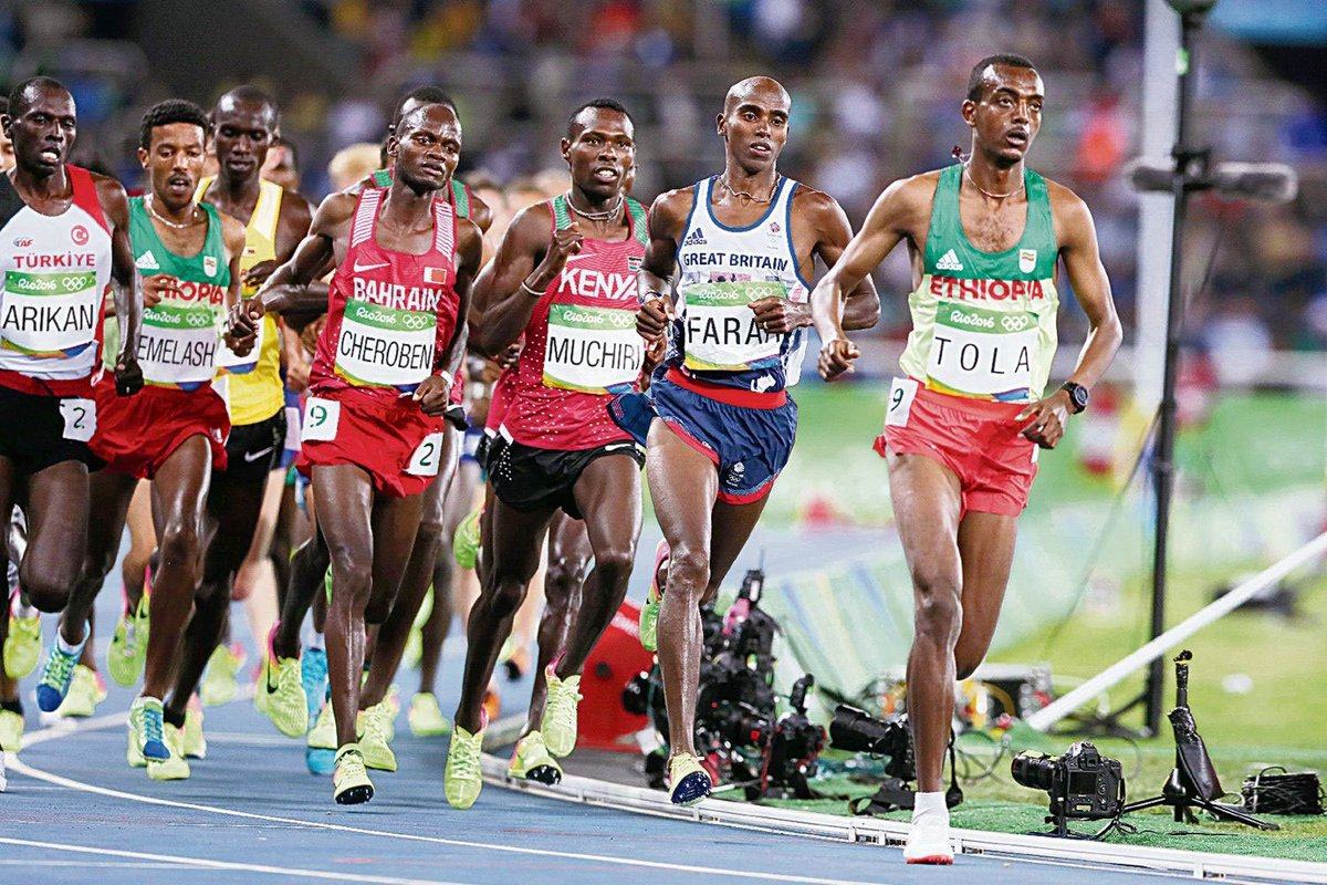 0a7f2d388ad Mo farah is first british runner to win three gold olympic medals ...