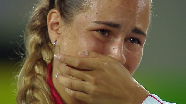 Pure emotion: tears of joy as ...