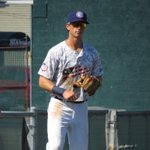 Saw Linganore grad Tyler Beckwith playing 3B with the Hagerstown Suns on Sunday. https://t.co/bxurbtwGuh