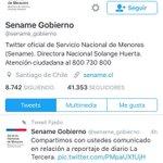 Comunicado del Sename respecto a Solange Huerta y reportaje de La Tercera https://t.co/H6ChWwvUK3