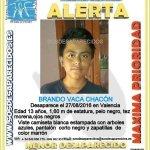 #Urgente Brando es un #menor que ha #desaparecido en #Valencia ¿Le has visto? 📞062 📞112 Tu RT puede ayudarle https://t.co/KrCskk2FuP
