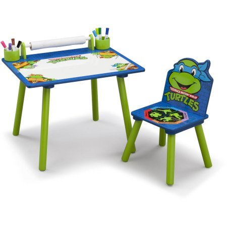 Surprise your Turtle with the Delta Children Nickelodeon Ninja Turtles Art Desk - only $35! https://t.co/nRcN0WgY4F https://t.co/dInUmfwULi