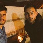 Asadito con el goleador @Sercomba vamos rangers 🔴⚫️🔴 #piducanos https://t.co/fK8Nh6pYPU