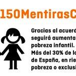#150MentirasCs y 2 partidos que reniegan de defender a la mayoría social de este país: @PPopular y @CiudadanosCs https://t.co/40RSlfn66O