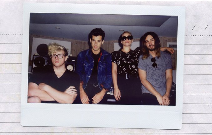 Lady Gaga @ladygaga: We made a #PERFECTILLUSION @markronson @tameimpala @bloodpop https://t.co/lF8KRJQWRG