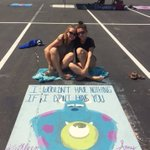life is more fun when you share everything w/ your best friend💜💜#seniorspot https://t.co/xX0aTogzvl