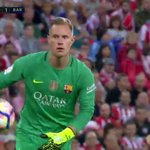 10 mins into the 2nd half & Marc-Andre ter Stegen has had more touches (52) than Messi (47) & 4 other Barca players https://t.co/VMyNoitBnX