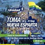 Todos a DEFENDER la DEMOCRACIA,vamos el #1Sep a la concentración en la Av 4 de Mayo con Santiago Mariño #Revocatorio https://t.co/AfeyWvv39W