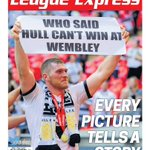 And now its time for the new cover of @LeagueExpress to be revealed. I hope@hullfcofficial supporters will like it. https://t.co/WqlzC4lVBU
