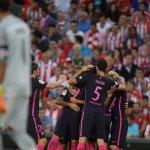 FINAL   El gol de Rakitic vale el partido, Athletic 0-1 Barcelona ⚽ https://t.co/Yy0k1aQ9BX #LaLiga https://t.co/5RYshEvrVM