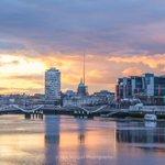 Docklands at Dusk  @PhotosOfDublin @ireland @barrabest @OldDublinTown @PictureIreland @rusticdublin @FadeStSocial https://t.co/VXXCx2DDFt