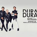 Info for tonights #papergodstour show: Doors open at 6pm Chic featuring Nile Rodgers at 7:30pm @duranduran at 9pm https://t.co/R9UGmUnyVv
