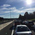 Ruta Concepción - Cabrero tránsito suspendido por manifestación en nuevo peaje. Fotos @fmerinod #cat8 ^196 https://t.co/SrbQyPSeWF