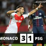 Cest fini ! Monaco domine le PSG et rejoint Guingamp en tête de L1 #ASMPSG https://t.co/8qZv4T6uRy