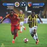 Maç Sonucu | Fenerbahçe 3-3 Kayserispor https://t.co/PaYFw4CZQm