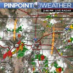 Storms erupting over the mountains and areas south of the Metro and theyre headed north #KDVR #KWGN #cowx https://t.co/qG40GsLjWs