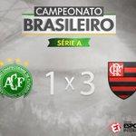 TERMIIIINA NA ARENA CONDÁ! O @Flamengo vence bem e agora é o vice-líder o Brasileirão! https://t.co/AaenGBaMya