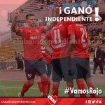 #FútbolCAI   #Independiente derrotó a @Belgrano por 1-0 ¡Que gane el #Rojo y todo el año es carnaval! #VamosRojo https://t.co/wAcsiyX6Yv