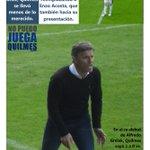 TAPA   Quilmes perdió con Newells en el Estadio Centenario, en la vuelta del fútbol y Alfredo Grelak. https://t.co/CxUulEBpVH