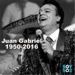 Medios internacionales confirmaron la muerte del cantante mexicano Juan Gabriel, por un infarto en plena gira. https://t.co/DCHt4gBICb