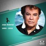Lamentamos profundamente el sensible fallecimiento del gran #DivodeJuárez Juan Gabriel. #QEPD https://t.co/5uGZHbdkST